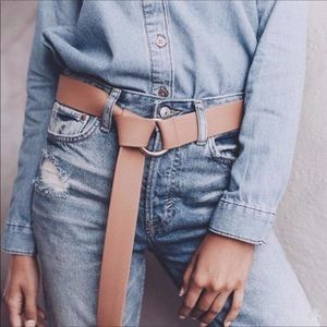 B-low the belt vegan leather belt